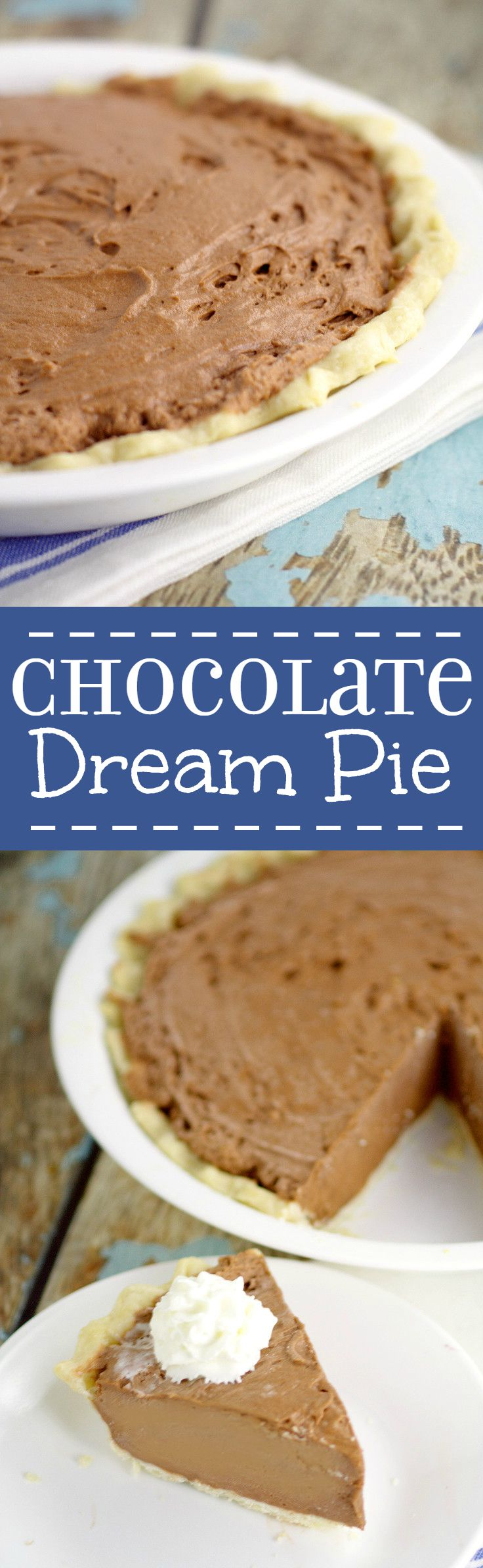 Chocolate Dream Pie | The Gracious Wife