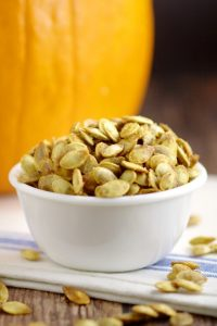 Toasted Pumpkin Seeds | The Gracious Wife