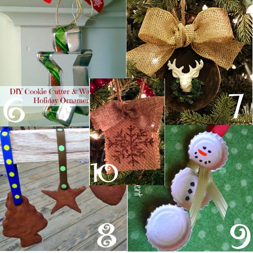 Make your tree look even more amazing with these DIY Christmas Ornaments! Beautiful and fun to make by yourself or for kids to make! From rustic and natural to chic and glass, there's tons of handmade DIY Christmas ornaments ideas and tutorials here! Homemade Christmas ornaments make beautifulgifts too!