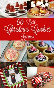 60 of the Best Christmas Cookies Recipes, a finale to a Week of #Christmas #Cookies at TheGraciousWife.com