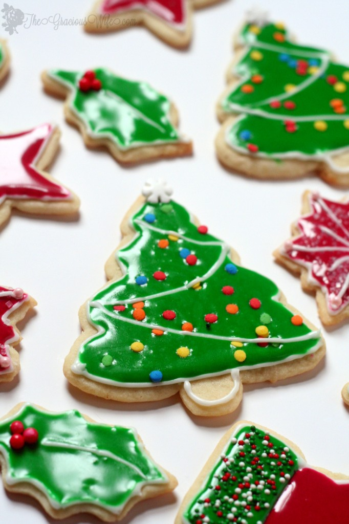 Flooding with Royal Icing for Sugar Cookies- Christmas Cookies ...