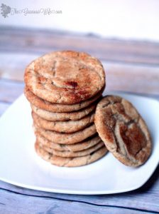 Despite their unusual name, Snickerdoodles are a wonderful, rich cinnamon-sugar cookie. Great for the holidays or anytime you'd like a yummy cinnamon treat. From TheGraciousWife.com #Christmas #Cookies