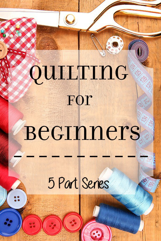 machine quilting tutorial for beginners