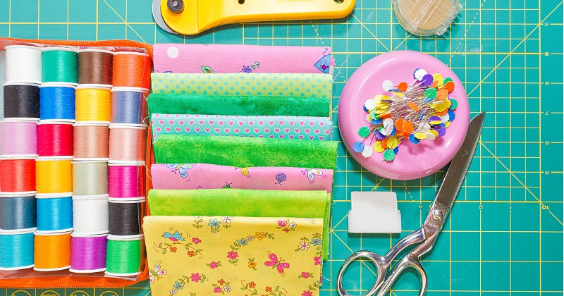 Washing and Cutting Quilt Blocks -Part 2 in a 5-part Quilting for Beginners series. This Washing and Cutting Quilt Blocks section will walk you through washing your fabric, cutting quilt blocks, and ironing and prepping. Make your own DIY sewing quilt with this step-by-step tutorial!