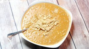 Southwest Bean Chowder is a creamy soup recipe that tastes similar to chicken tortilla soup! So good! #soup #chowder #recipe #beans From TheGraciousWife.com