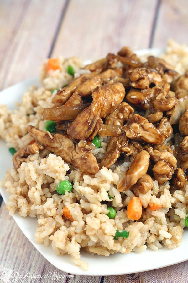Easy Chicken Teriyaki Recipe | The Gracious Wife