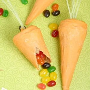 Surprise-Inside Waffle Cone Carrots