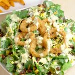 Southwest Salad Recipe with Spicy Honey Mustard