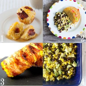 Tons of Easy Corn Side Dishes Recipes - on the cob, grilled, salad and MORE. These tasty corn recipes are great side dish recipes for summer, bbq, or cookouts. |easy vegetable side dish recipes |