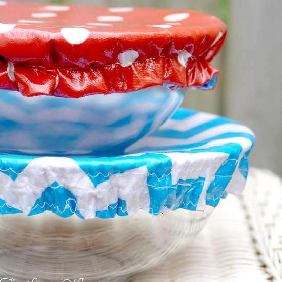 How to Make Washable Reusable Bowl Covers