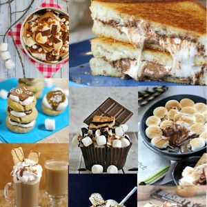 Want some MORE tasty, gooey S'mores Desserts? Check these out!