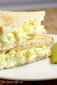 This easy Classic Egg Salad Recipe is a creamy, cool delight that's great for sandwiches for an easy lunch or dinner. So creamy and delicious!