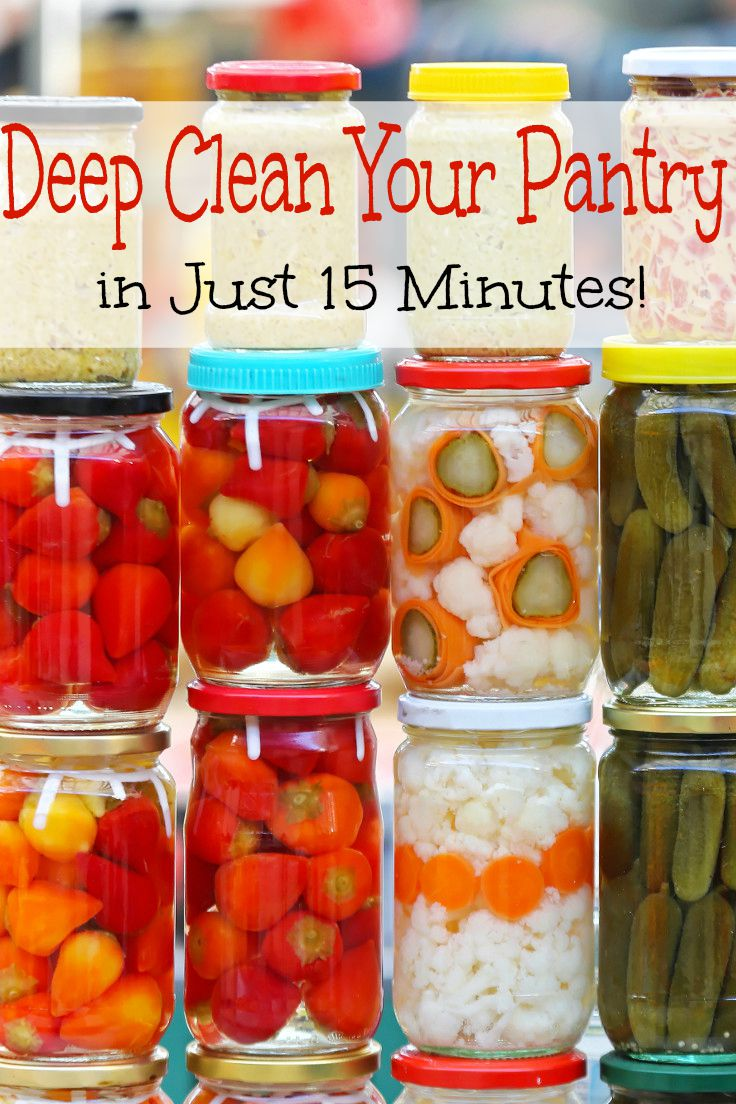 Deep Clean Your Pantry in 15 Minutes