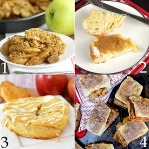 Over 40 of the BEST Apple Dessert Recipes - Apple Crisp, apple pie, apple cobbler and cake! This list has it all! Apple desserts are so yummy! These are such great fall food recipes and ideas