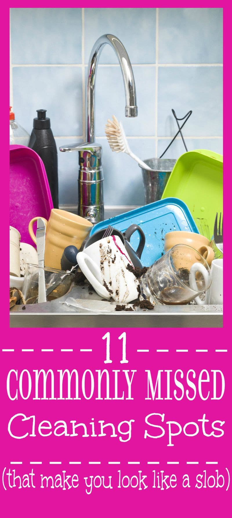 11 Commonly Missed Cleaning Spots