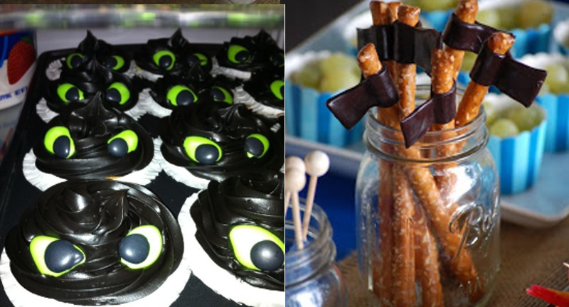 Toothless Cupcakes Tutorial The Gracious Wife