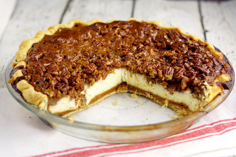 Pecan Cheesecake Pie | The Gracious Wife