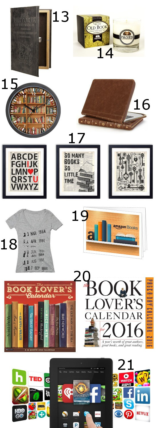 Book Lover Gift Ideas | The Gracious Wife