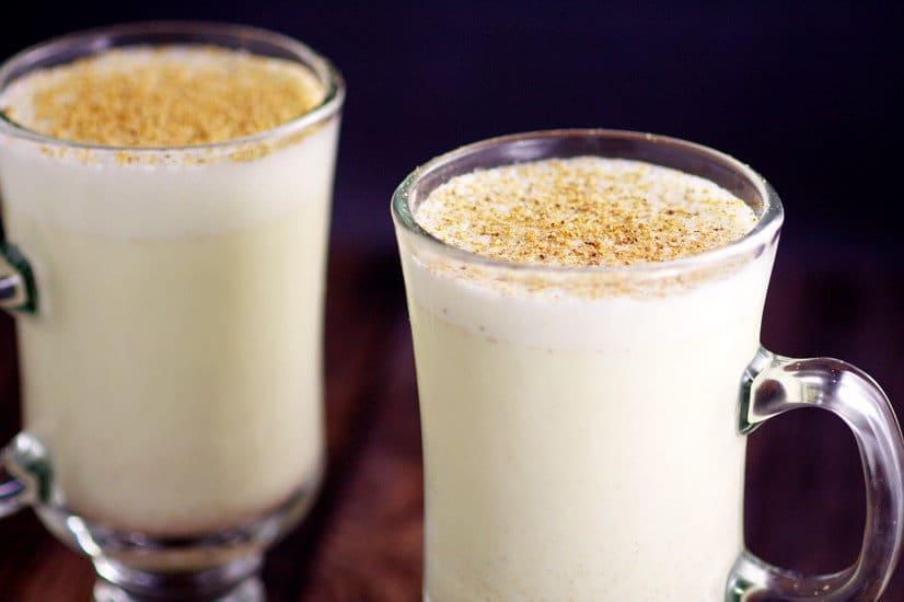 ... it in recipes and for parties. Mmmm... homemade eggnog is the best