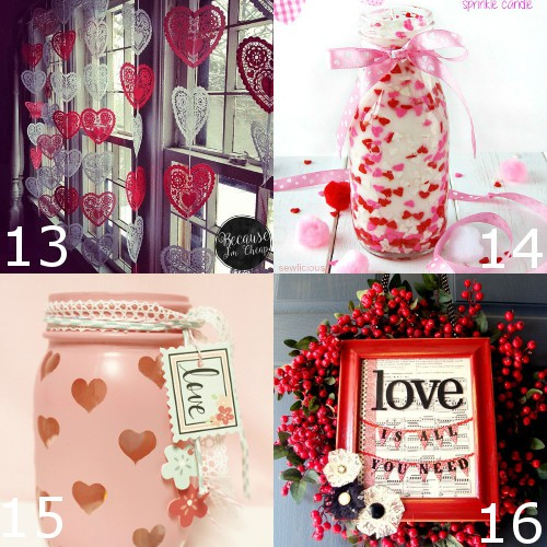 36 DIY Valentineu0027s Day Decorations Ideas. Pretty Hearts And Roses, Pinks  And Reds,