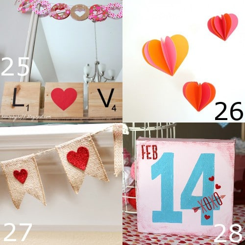 36 DIY Valentine's Day Decorations ideas. Pretty hearts and roses, pinks and reds, these fabulous DIY Valentine's Day Decorations will spruce up your house and have you dreaming of love! These are so cute, easy, and simple. Gotta try it!