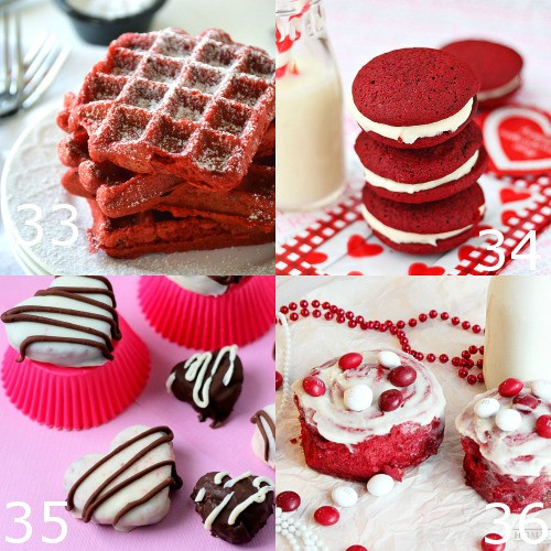 Red Velvet Dessert recipes are the ultimate choice for Valentine's Day food.These 40 decadent Red Velvet Dessert recipes are perfect for Valentine's Day. Indulge your craving with the rich, classic flavor of red velvet. Heaven!