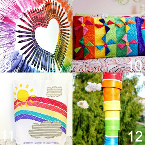 16 Diy Rainbow Crafts The Gracious Wife