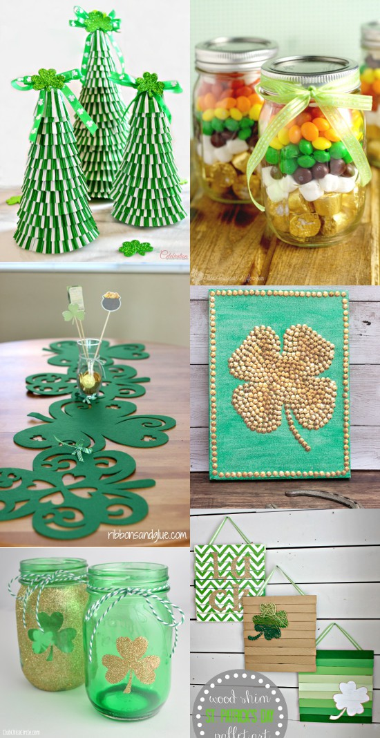 28 diy st patrick 39 s day decorations the gracious wife for Decoration saint patrick