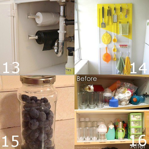 Kitchen Storage Diy Ideas: 24 DIY Kitchen Organization Ideas