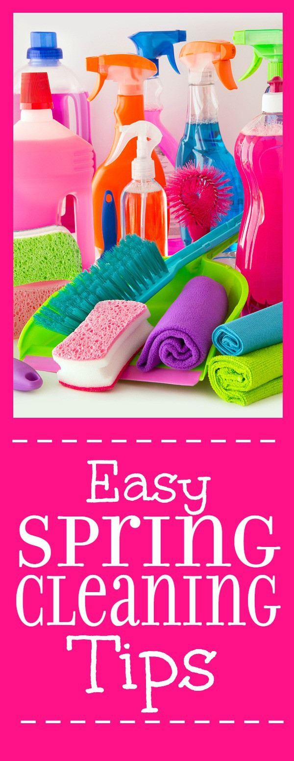 Spring Cleaning Tips easy spring cleaning tips | the gracious wife