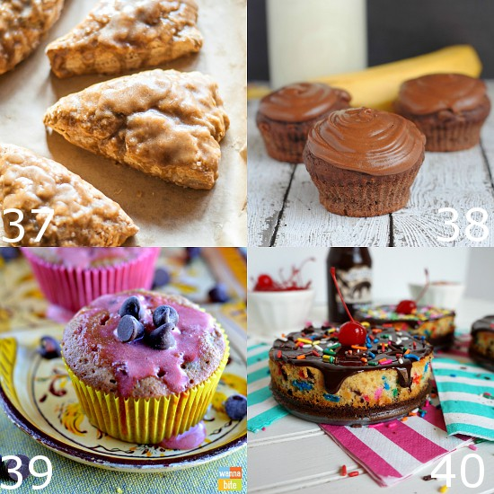 92 Yummy Recipes with Bananas - Bananas are a food that everyone can enjoy.  Make them even more delicious with these 92 Yummy Recipes with Bananas, from banana cakes and muffins to banana pies and ice cream and more!  So many easy and delicious ideas!