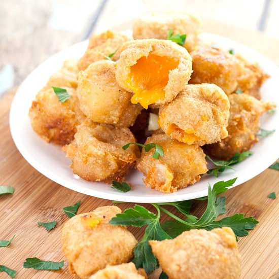 Deep Fried Cheese Bites