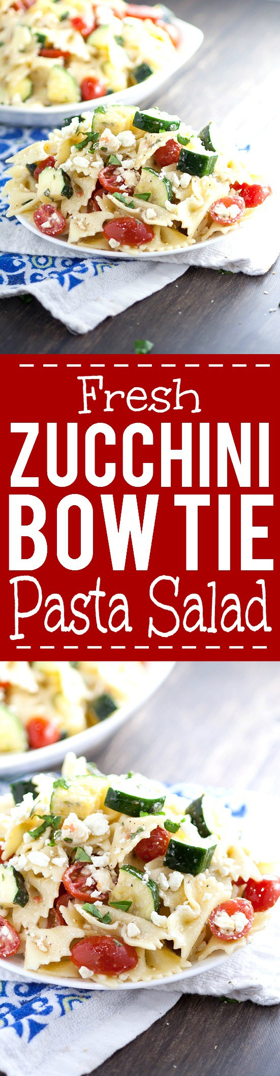 and zucchini pasta salad with tomatoes zucchini and feta recipe key ...