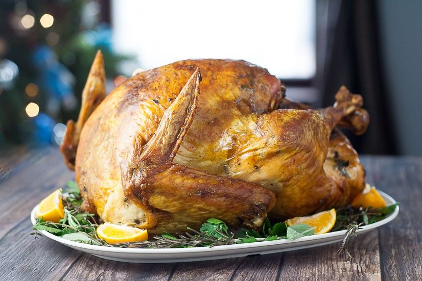 Er Herb Roasted Turkey Recipe That S Perfect For A Clic Thanksgiving Golden
