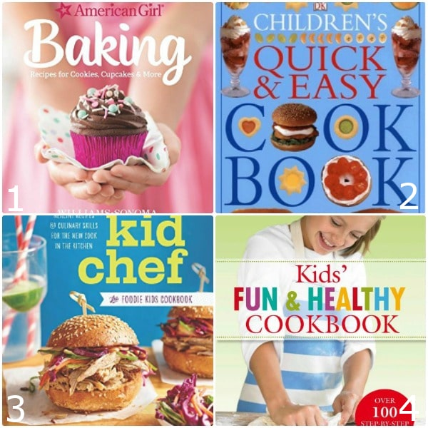 24 Best Cookbooks for Kids will make super cute gift ideas! - 24 top Cookbooks for Kids to get your kids busy in the kitchen and spend quality time with them while teaching them a valuable life skill. Cooking with kids is a fun activity for the whole family to enjoy together!