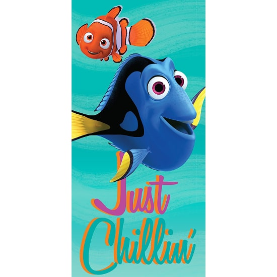 Dory and Nemo Beach Towel - 15 Finding Dory Gift Ideas - Finding Dory Gift Guide with 15 adorable and fun Finding Dory Gift Ideas that are perfect for the Finding Dory fan in your life. Perfect gift ideas for kids for Christmas and birthdays!