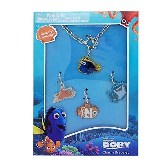 Finding Dory Bracelet Set - 15 Finding Dory Gift Ideas - Finding Dory Gift Guide with 15 adorable and fun Finding Dory Gift Ideas that are perfect for the Finding Dory fan in your life. Perfect gift ideas for kids for Christmas and birthdays!