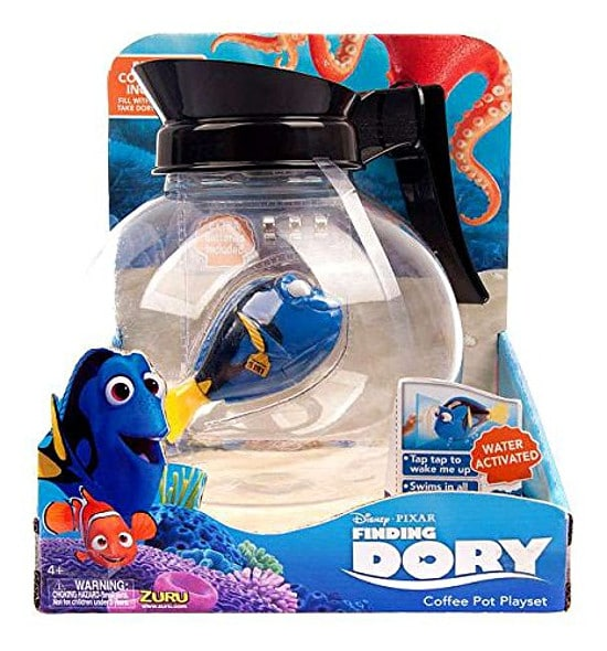 Finding Dory Coffee Pot Play Set - 15 Finding Dory Gift Ideas - Finding Dory Gift Guide with 15 adorable and fun Finding Dory Gift Ideas that are perfect for the Finding Dory fan in your life. Perfect gift ideas for kids for Christmas and birthdays!