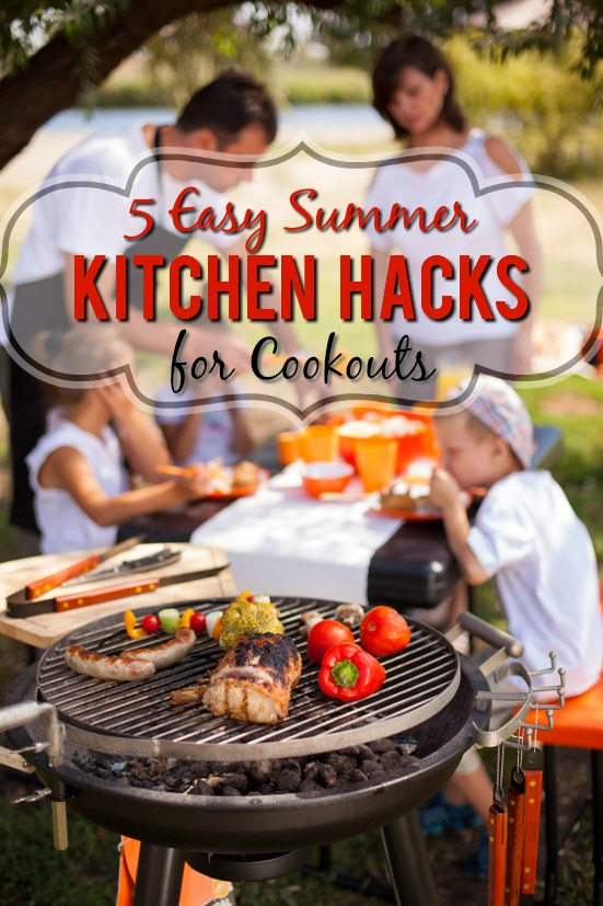 6 Easy Summer Kitchen Hacks for Cookouts -Make Summer cookouts easier and even more fun and relaxing with these 6 simple, and totally genius, Summer Kitchen Hacks for Cookouts. Cooking Tips | Cooking Hacks