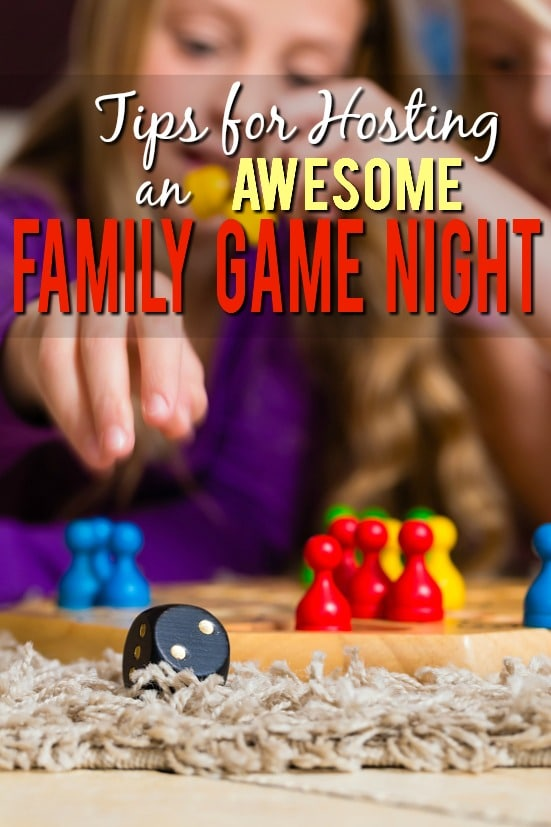 7 Tips for Hosting a Rocking Family Game Night -Spend some quality time with your family having fun, playing games, and being silly with these 7 tips for hosting a rocking family game night. Parenting tips