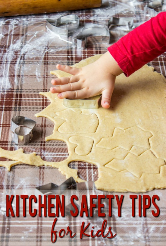 6 Kitchen Safety Rules for Kids - Getting kids involved in the kitchen is a valuable life skill, but it can be dangerous.  Teach your kids to be useful and safe with these 6 basic kitchen safety tips for kids.  Parenting tips