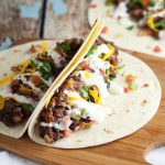 Sriracha Ranch Black Bean Tacos