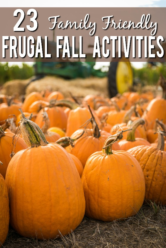 23 Frugal Fall Activities for Kids - Check out these 23 Frugal Fall Activities for Kids of you're looking for some inexpensive, family-friendly fun this Fall for the whole crew. Parenting Tips. I want to do all of these this year!