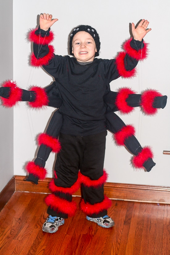 diy spider costume for kids make this easy fun and creepy diy spider
