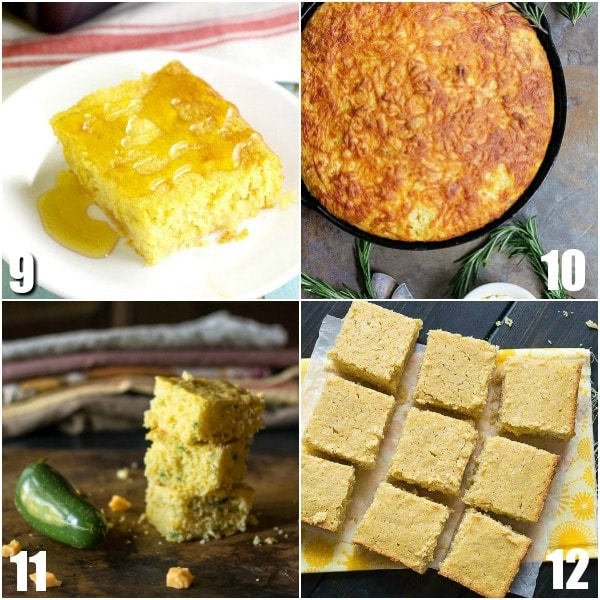 32 Cornbread Recipes -Everyone loves this easy Southern side dish! Find out how to make your favorite cornbread even more amazing with these 32 easy homemade Cornbread Recipes. Whether you like sweet, Southern, casseroles, or muffins, you'll find it all here! Oh. My. Yum. So many cozy recipes!