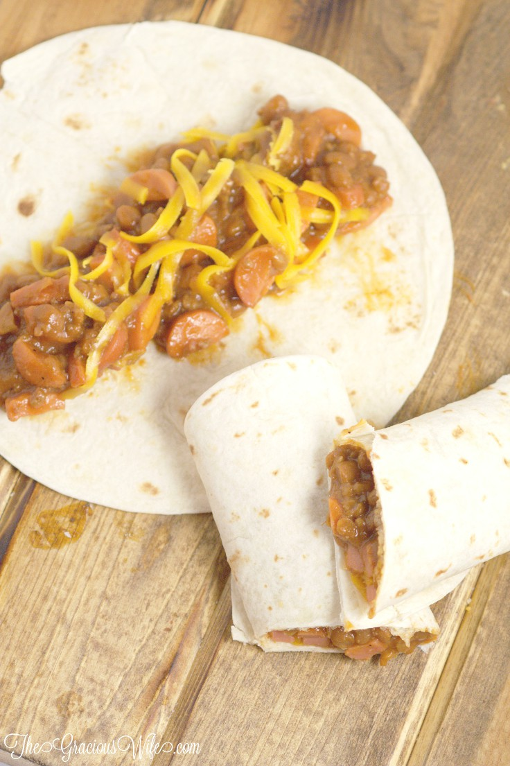 Chuckwagon Wrap Recipe