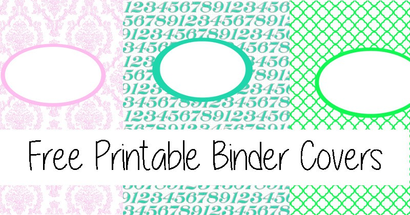 Free Printable Binder Covers | The Gracious Wife