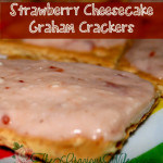 Strawberry Cheesecake Graham Crackers Snack