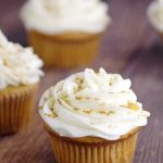 Ginger Brown Sugar Cupcakes