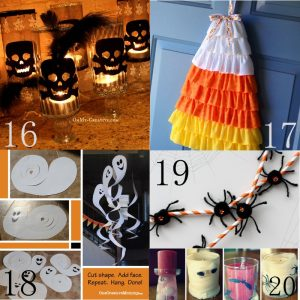 25 cheap diy halloween decorations diy halloween inspiration on budget make your halloween special - Home Made Halloween Decorations